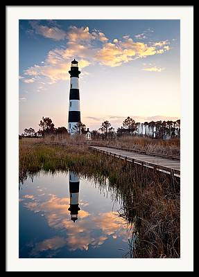 Bodie Island Lighthouse Framed Prints