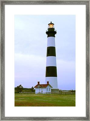 Bodie Light 4 Framed Print by Mike McGlothlen