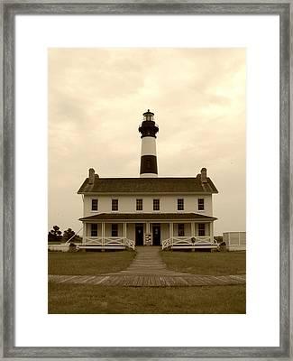 Bodie Light  Framed Print