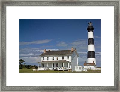 Framed Print featuring the photograph Bodie Lighthouse Obx by Greg Reed