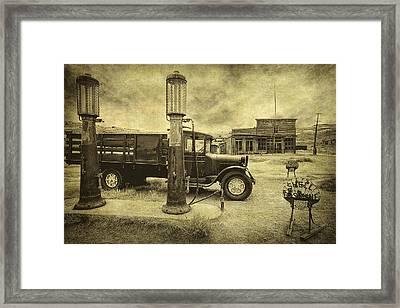 Bodie Memories Framed Print by Priscilla Burgers