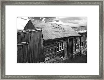 Bodie Row House Framed Print