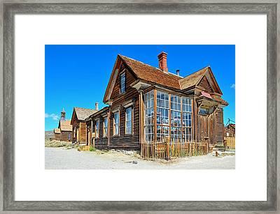 Bodie Store Framed Print by Paul Van Baardwijk