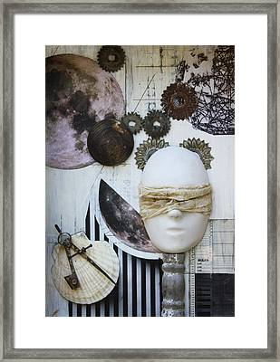 Bodies Of Attraction C2011 Framed Print by Paul Ashby