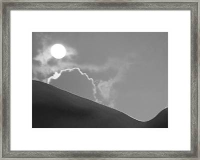 Bodies Of Land Framed Print by Christopher Prosser
