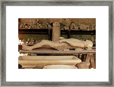 Body Cast Framed Print by Science Photo Library