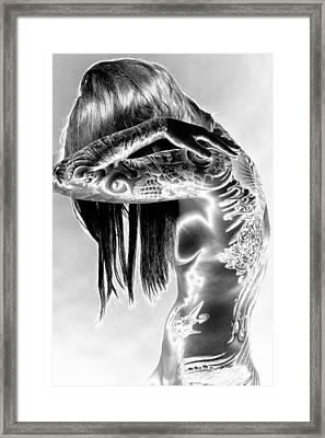Body Framed Print