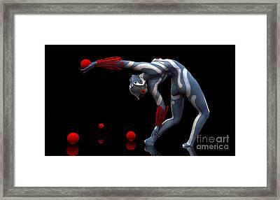 Body In Motion Framed Print