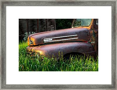 Body Needs Work But Doesnt Run At All Framed Print by Royce Howland