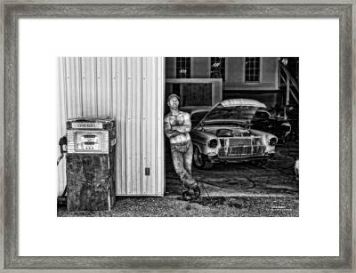 Body Shop Framed Print by Dan Quam