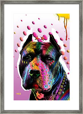 Bodyguard Framed Print by Mark Ashkenazi
