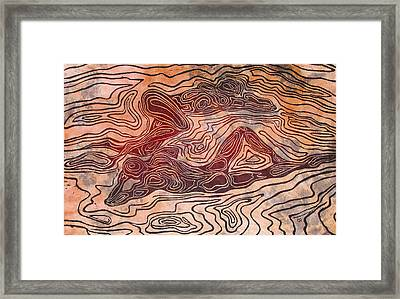 Bodyscapes II Framed Print by Maria Arango Diener