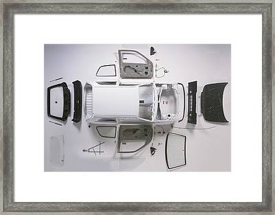 Bodywork Of A Small Car Framed Print by Dorling Kindersley/uig