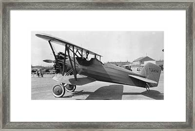 Boeing 100-a Framed Print by Hank Clark