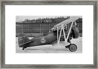 Boeing 100-f  P-12 Prototype Framed Print by Hank Clark