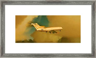 Boeing 727 - Cargo Framed Print by Marcello Cicchini