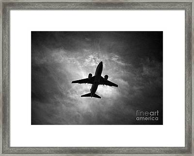 Boeing 737 Framed Print by Rastislav Margus
