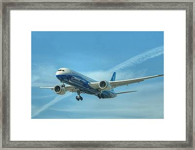 Boeing 787-9 Framed Print by Jeff Cook