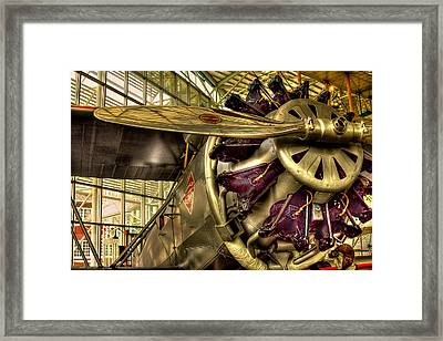 Boeing 80a-1 Passenger Airplane Framed Print