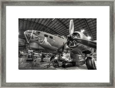Boeing B-17 Bomber Framed Print