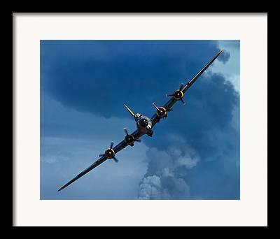 Vintage Air Planes Framed Prints