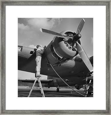 Boeing B-17 In 1942 Framed Print