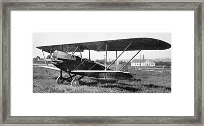 Boeing Bbl-6 Trainer Framed Print by Hank Clark