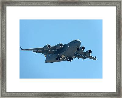 Boeing C17 Globemaster Framed Print