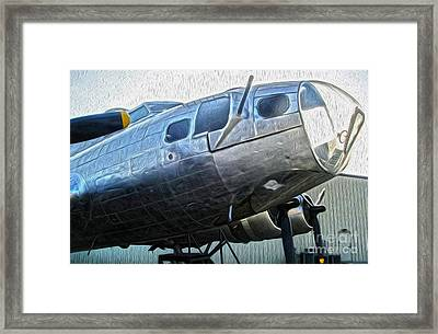 Boeing Flying Fortress B-17g  -  01 Framed Print by Gregory Dyer