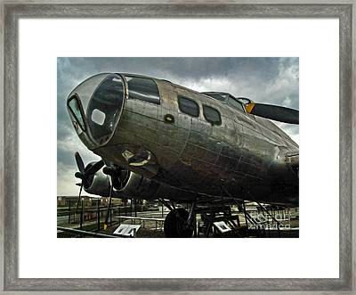 Boeing Flying Fortress B-17g  -  03 Framed Print by Gregory Dyer