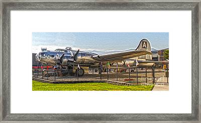 Boeing Flying Fortress B-17g  -  05 Framed Print by Gregory Dyer