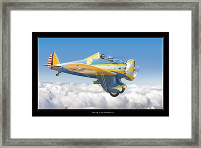 Boeing P-26 Peashooter Framed Print by Larry McManus