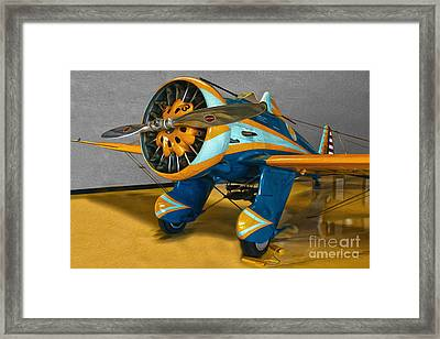 Boeing Peashooter P-26a  -  02 Framed Print by Gregory Dyer