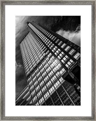 Boeing World Headquarters Framed Print