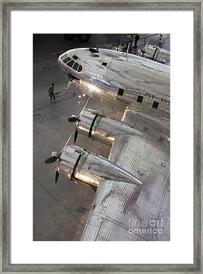 Framed Print featuring the photograph Boeing's Flying Cloud - Color by ELDavis Photography