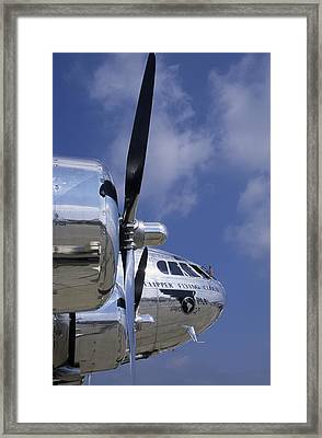 Boeing's Immacualtely Polished Stratoliner Framed Print by Austin Brown