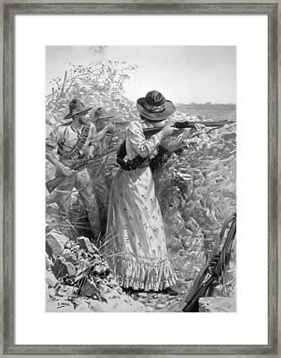Boer War, 1900 Framed Print by Granger
