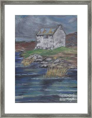 Bog Road Connemara Framed Print by Anne Ingelbach