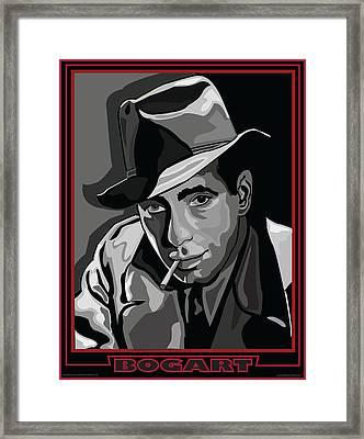 Bogart Framed Print by Larry Butterworth