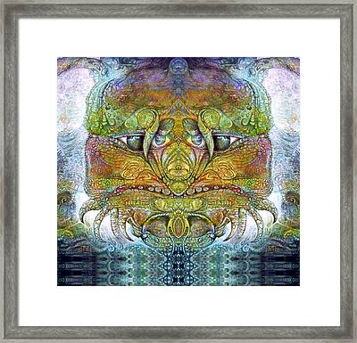 Bogomil Variation 11 Framed Print by Otto Rapp