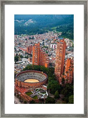 Bogota View Framed Print by Jess Kraft