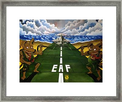 Bogue Rats Framed Print