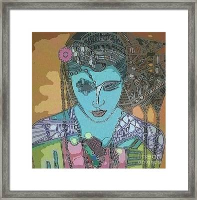 Bohee Water Framed Print by Amy Sorrell