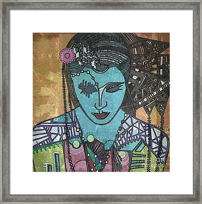 Bohee Woman Framed Print by Amy Sorrell