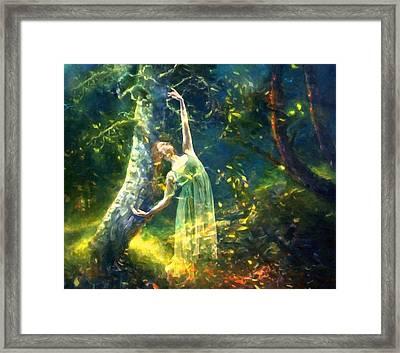 Bohemian Dancer Fantasy Framed Print