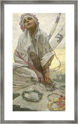 Bohemian Sun Dreamer Framed Print