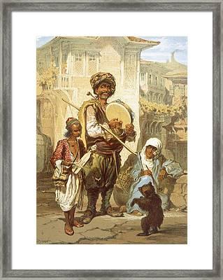 Bohemians, 1865 Framed Print by Amadeo Preziosi