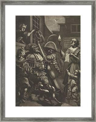 Boiler Music, Pieter Van Den Berge Framed Print by Pieter Van Den Berge