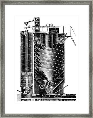 Boiler Water Purification Framed Print by Science Photo Library