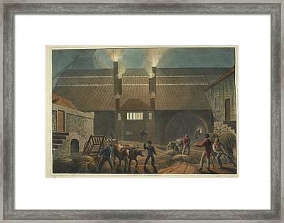 Boiling-house Framed Print by British Library